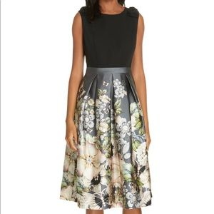 Ted Baker Molyka Gem Gardens Bow Dress - Size 3